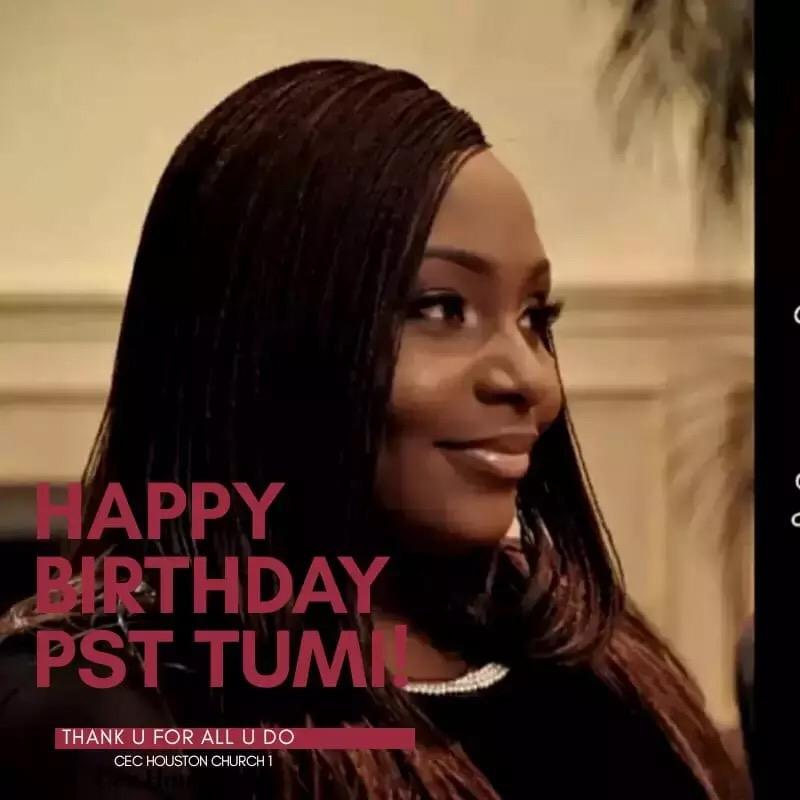 Happy Birthday Dear Pastor Tumi!!