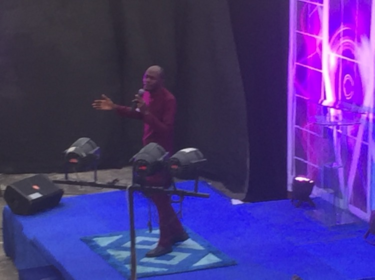 Pablow Ministering now... #CEOlufemi #CELZ3