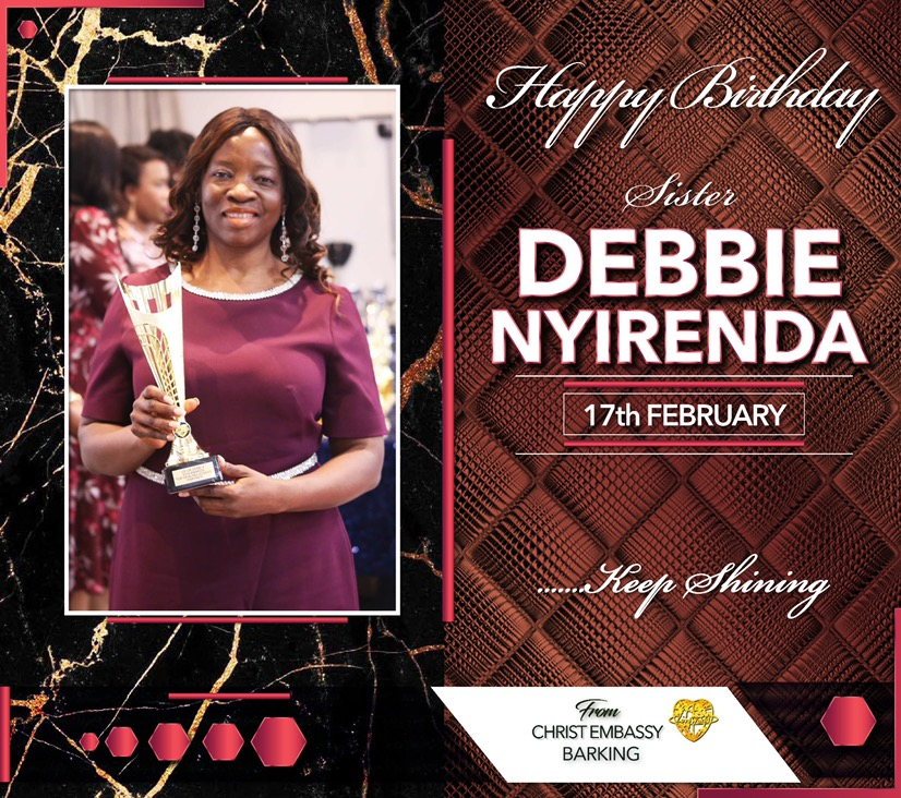 Happy birthday Sis Debbie Nyirenda