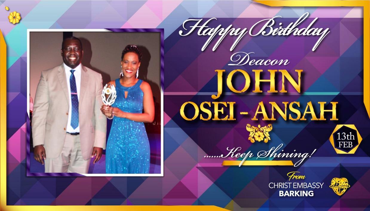 Happy birthday Dcn John Oseni-Ansah