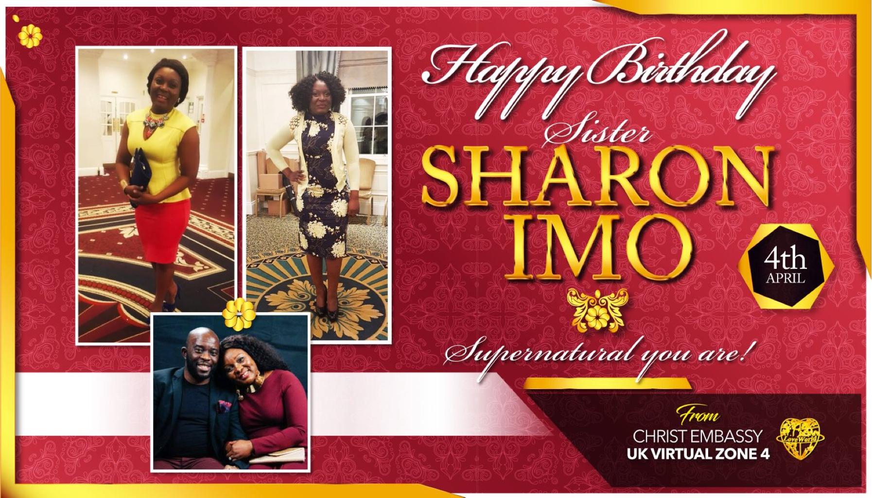 Happy birthday sis Sharon You