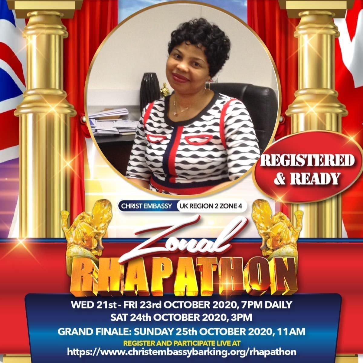 I'm ready! ready!! ready!!! #RhapathonUKR2Z4