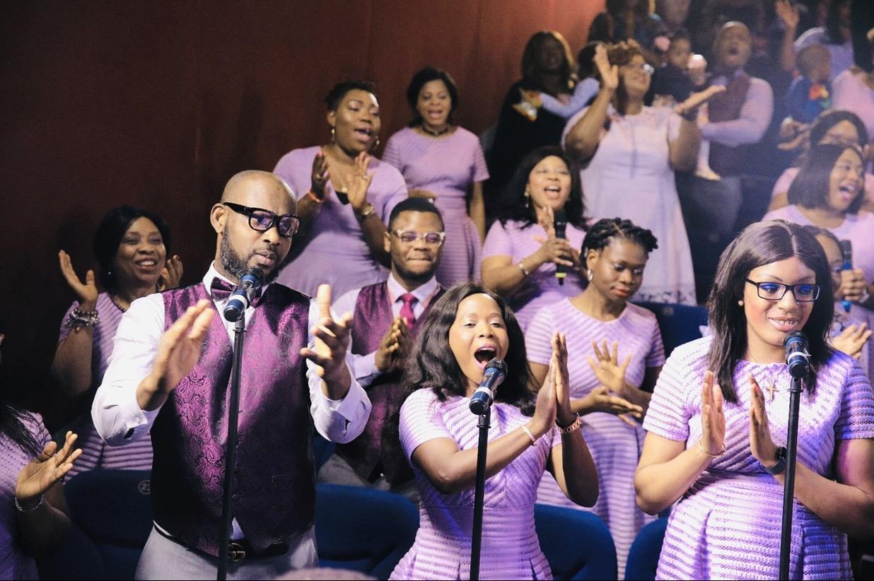 Loveworld central choir,before the plandemic.