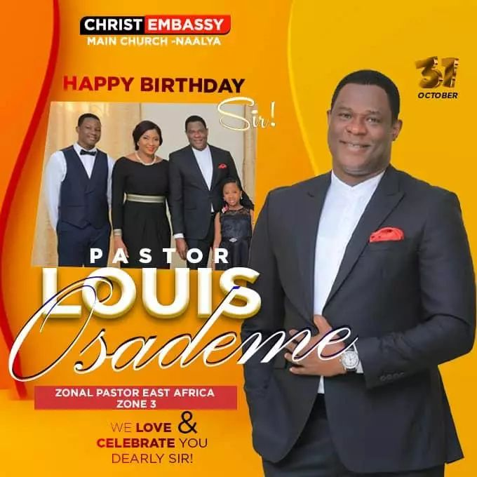 🎊🎊🎊Happy Birthday Esteemed Pastor Sir.🎊🎊🎊
