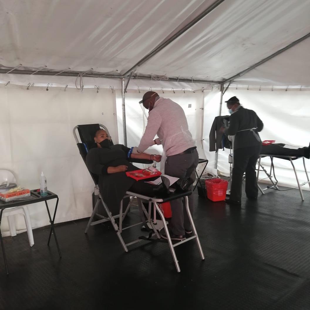 VMC PRETORIA HAD BLOOD DONATION