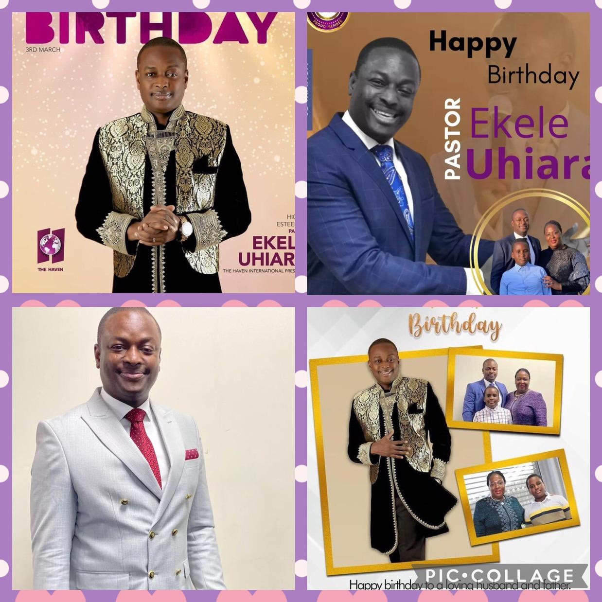 Still celebrating Pastor Ekele, the