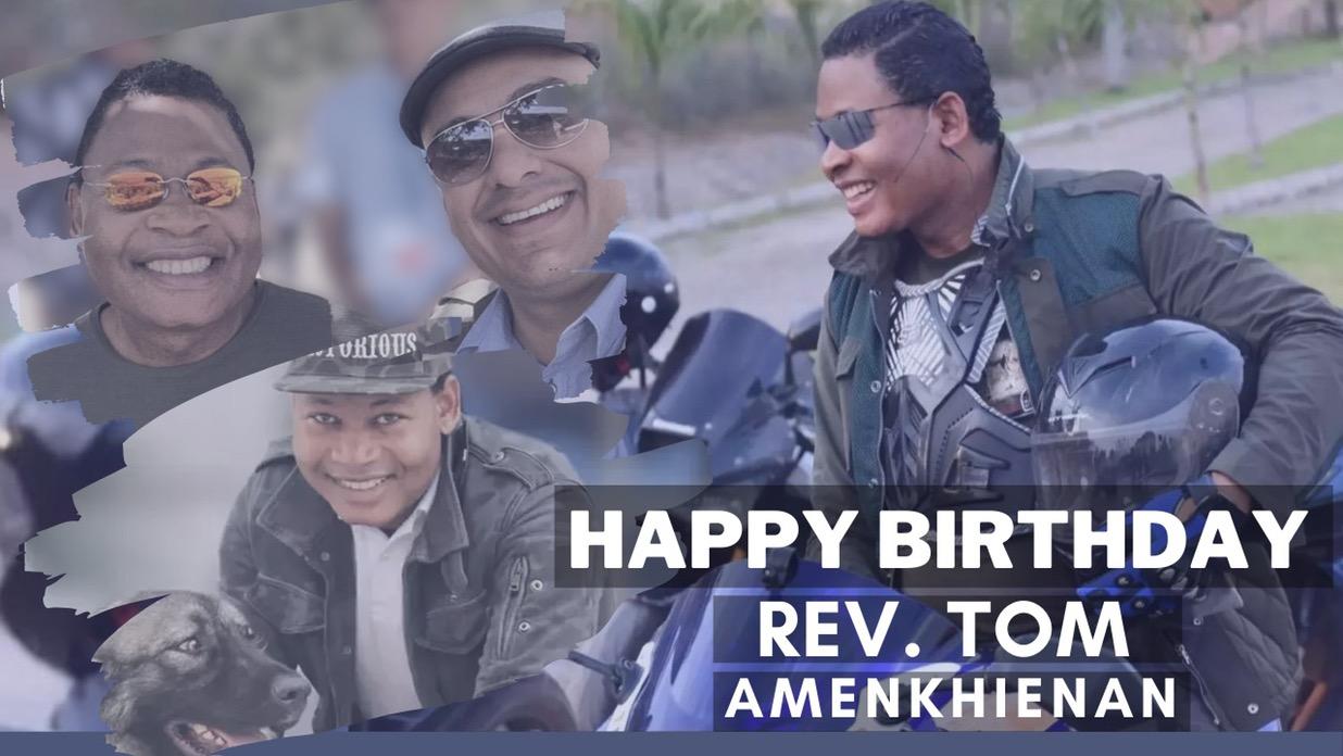 Happy Birthday Dear Rev. Thank