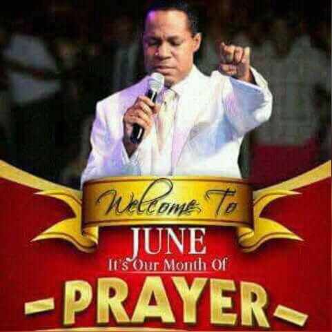 It's our month of prayer