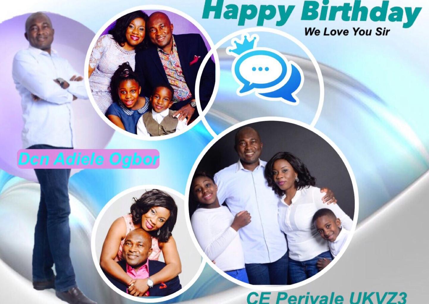 Happy birthday dear Dcn Adiele