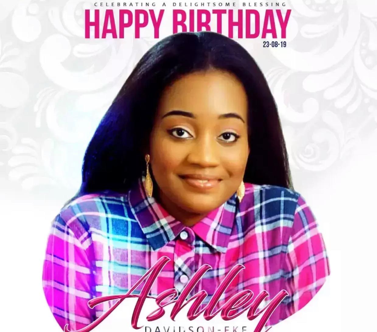Happy Birthday Sweet Ashley! Your