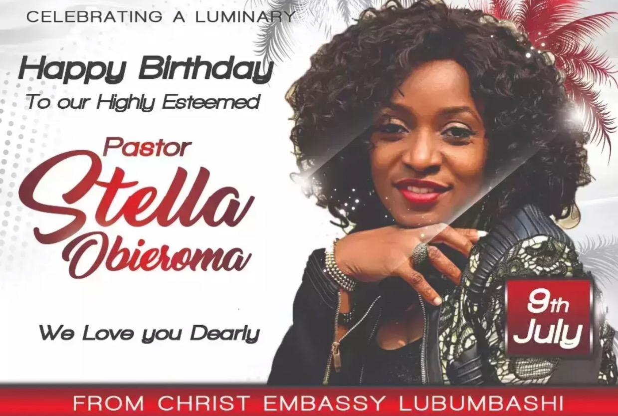Happy Birthday Pastor Stella Ma.