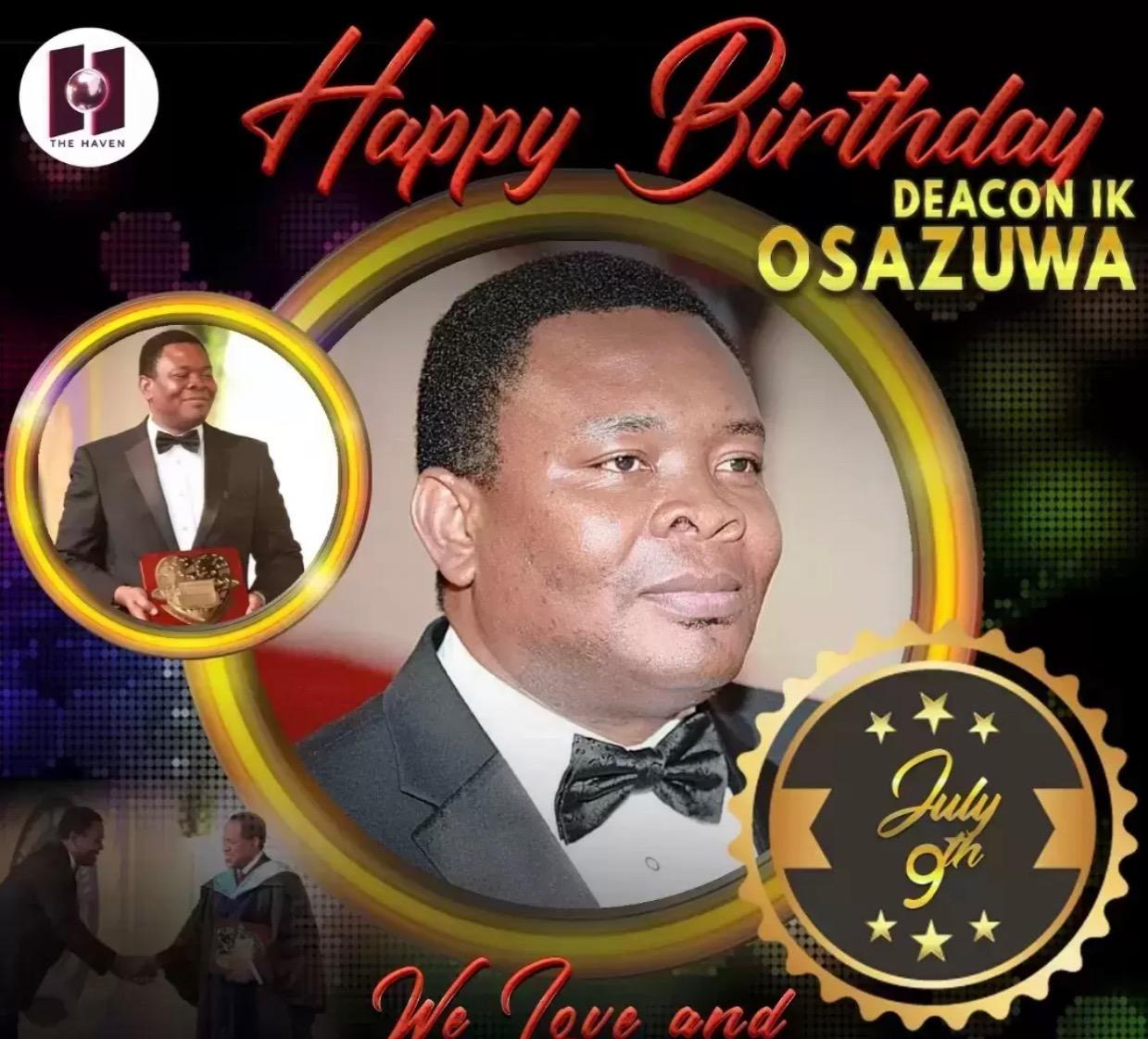 Happy Birthday Sir! Thank you