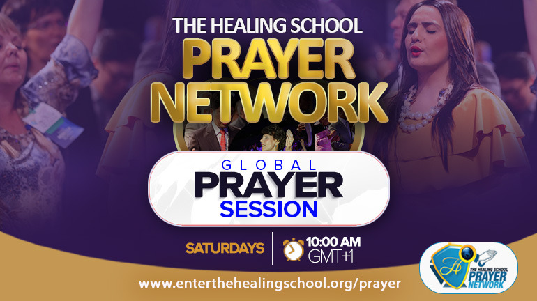 JOIN THE GLOBAL PRAYER SESSION