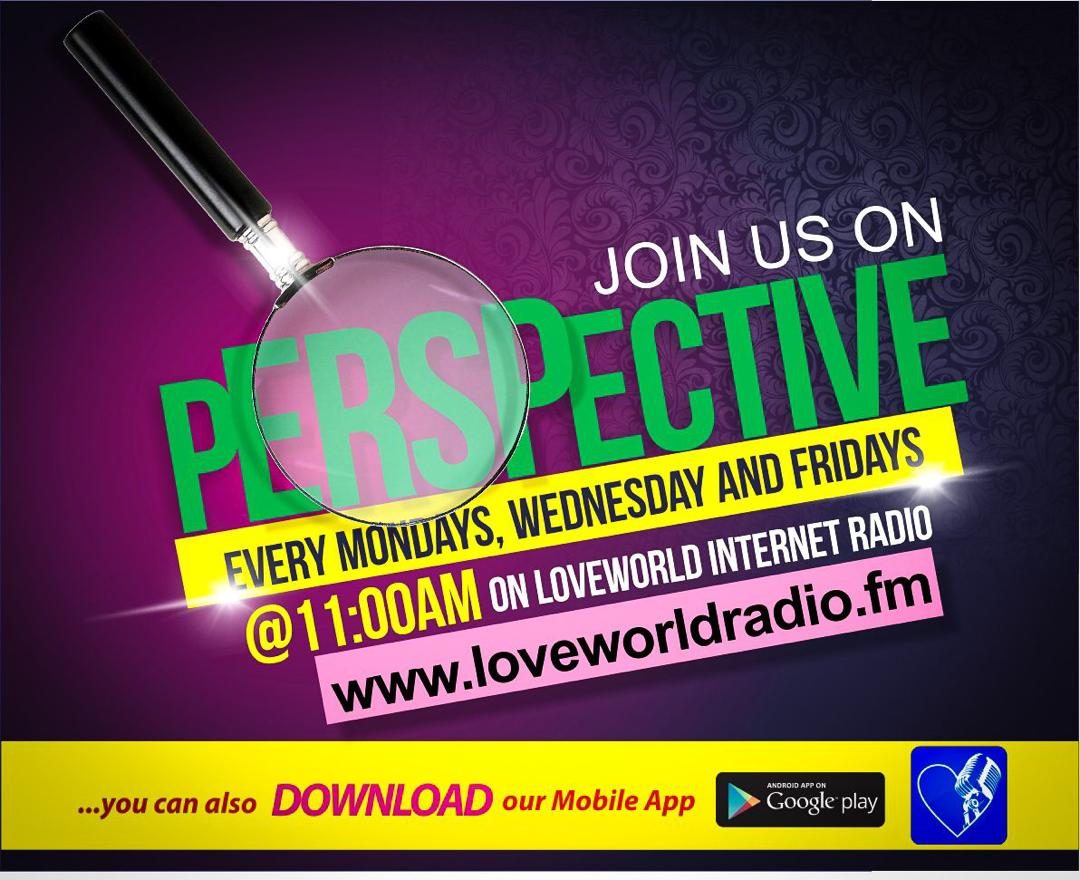 The Perspective is airing at