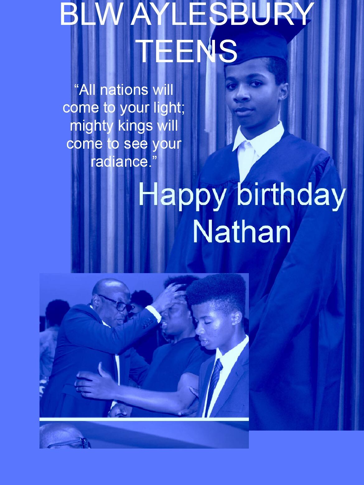 Happy birthday Nathan #blwaylesbury #ukzone2