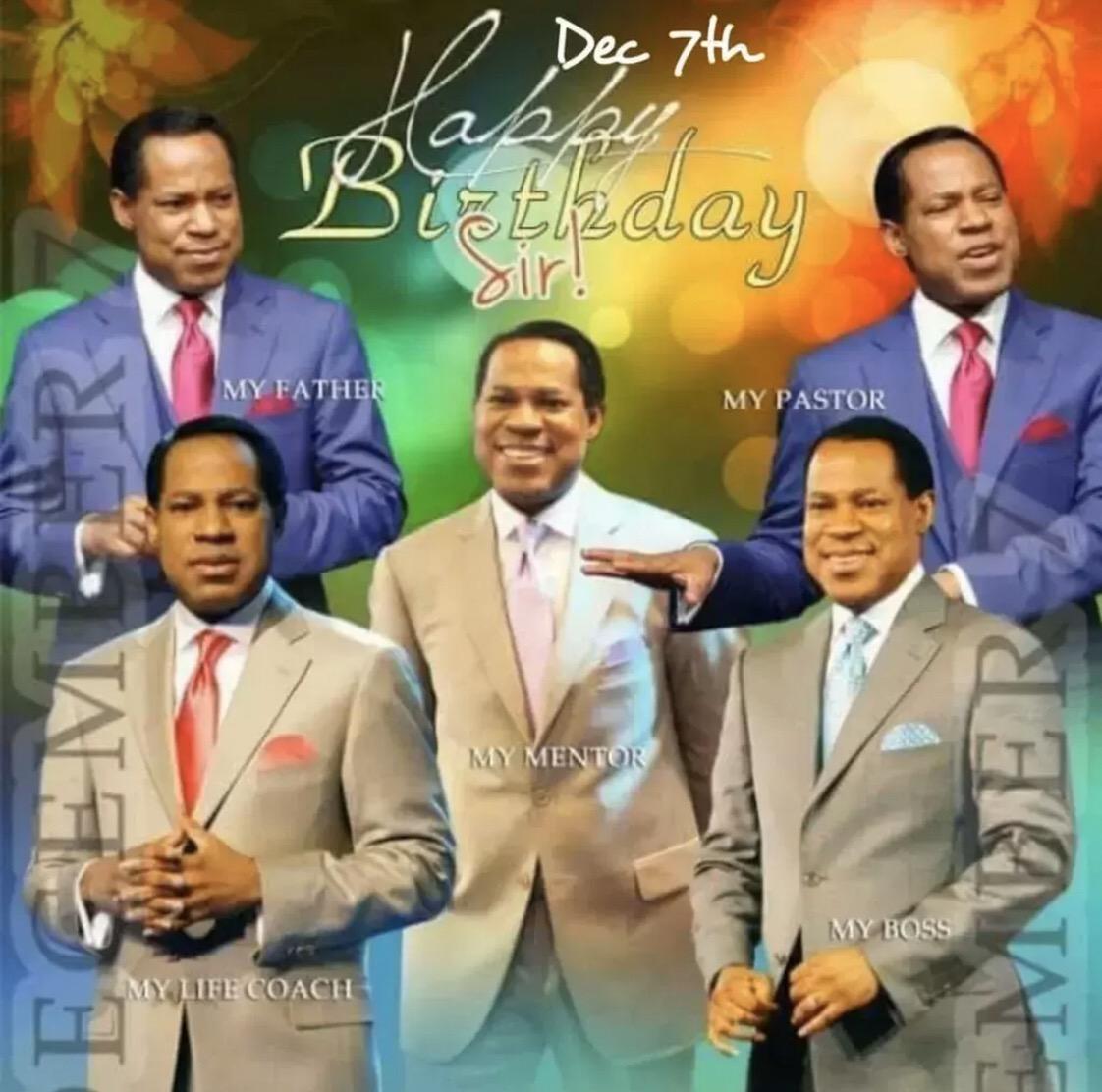 Happy Birthday Pastor! I love