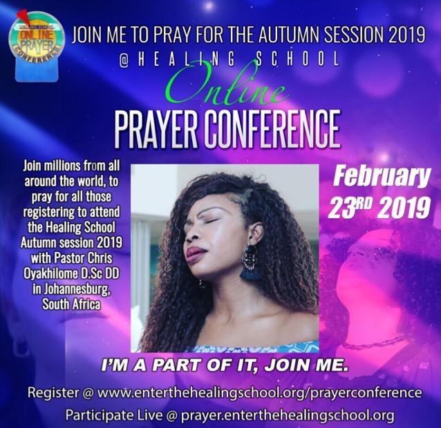 Be a part of praying