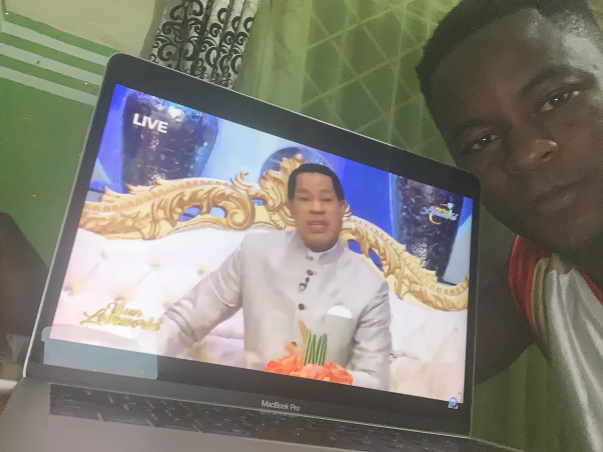 Any moment with pastor Chris