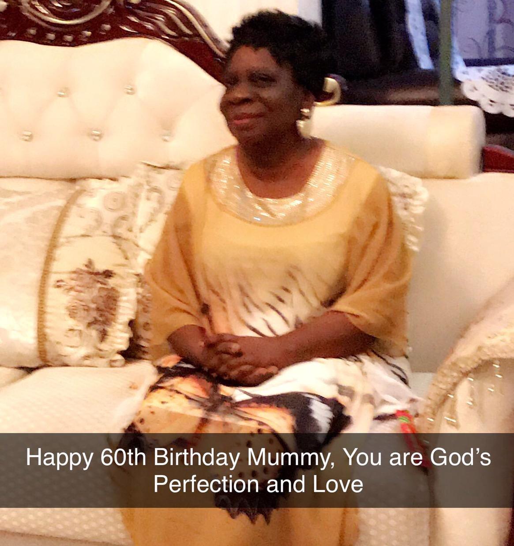 Happy 60th Birthday Mummy, Thank