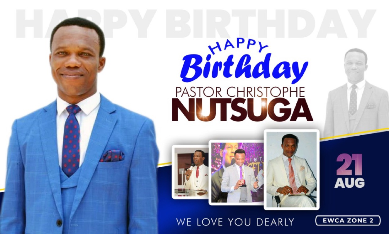 HAPPY BIRTHDAY ESTEEMED PASTOR CHRISTOPHE