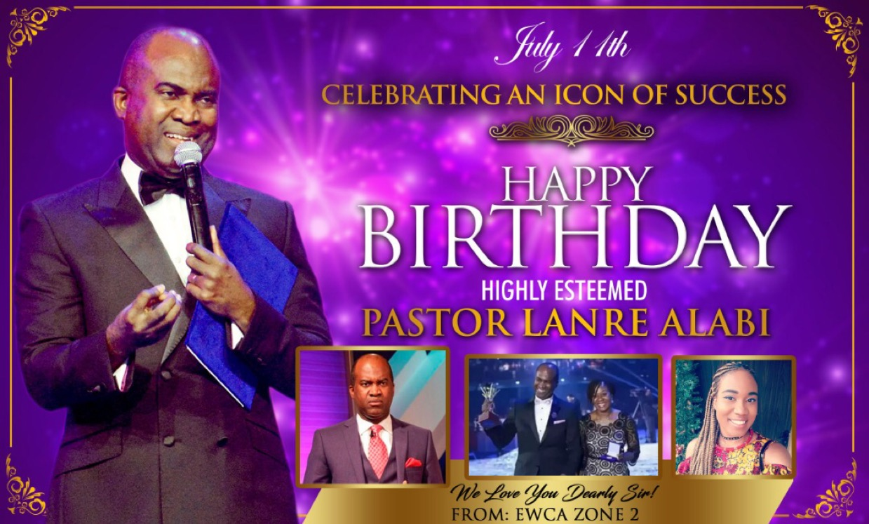 Happy Birthday Highly Esteemed Pastor