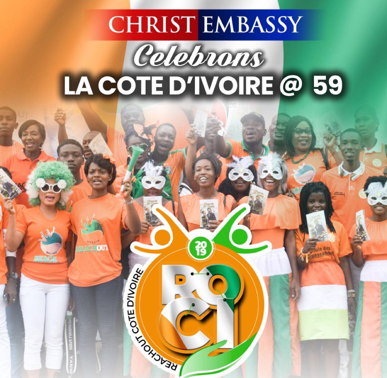CELEBRATING COTE D'IVOIRE @ 59.