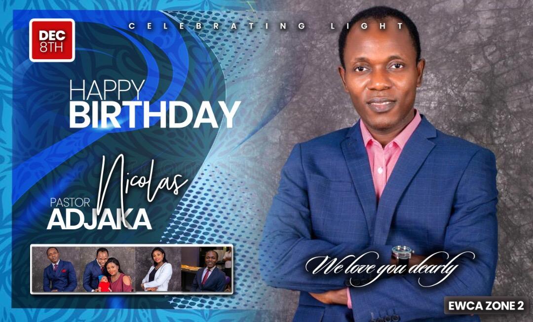 HAPPY BIRTHDAY PST NICHOLAS ADJAKA-YAO.