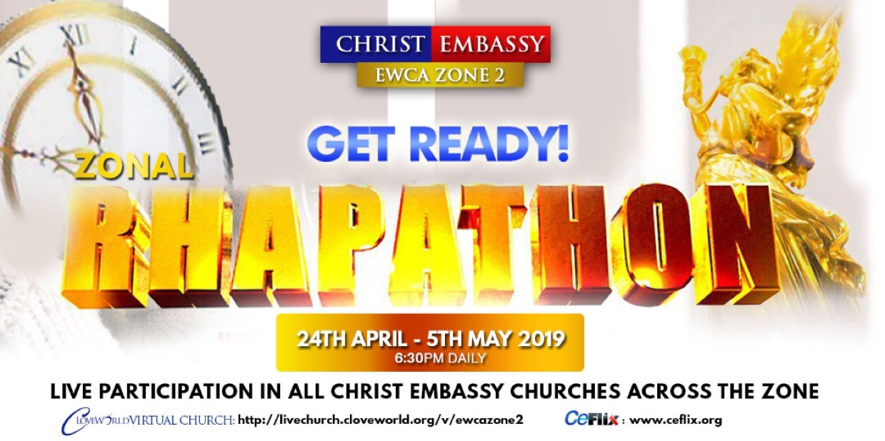 ZONAL RHAPATHON (24th APRIL-3rd MAY,