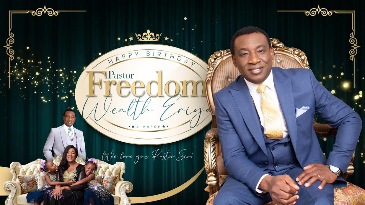 Happy Birthday, Pastor, Sir. Thank