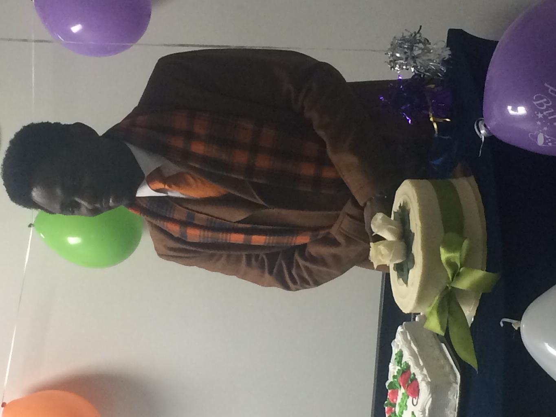 Celebrating with dear Bro Bayo!