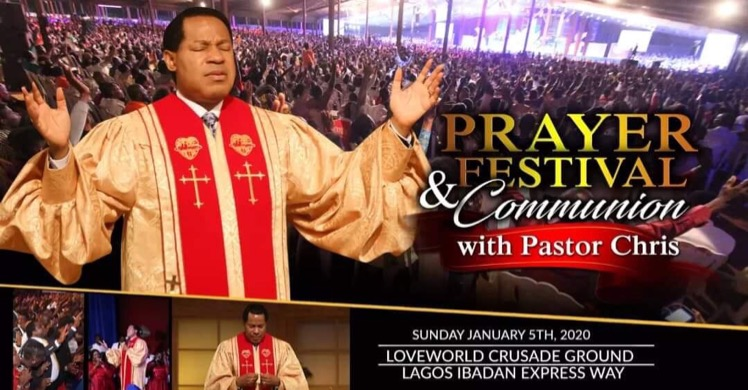 Prayer and Festival Communion With