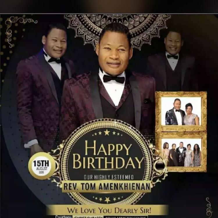 Happy birthday Rev sir ,