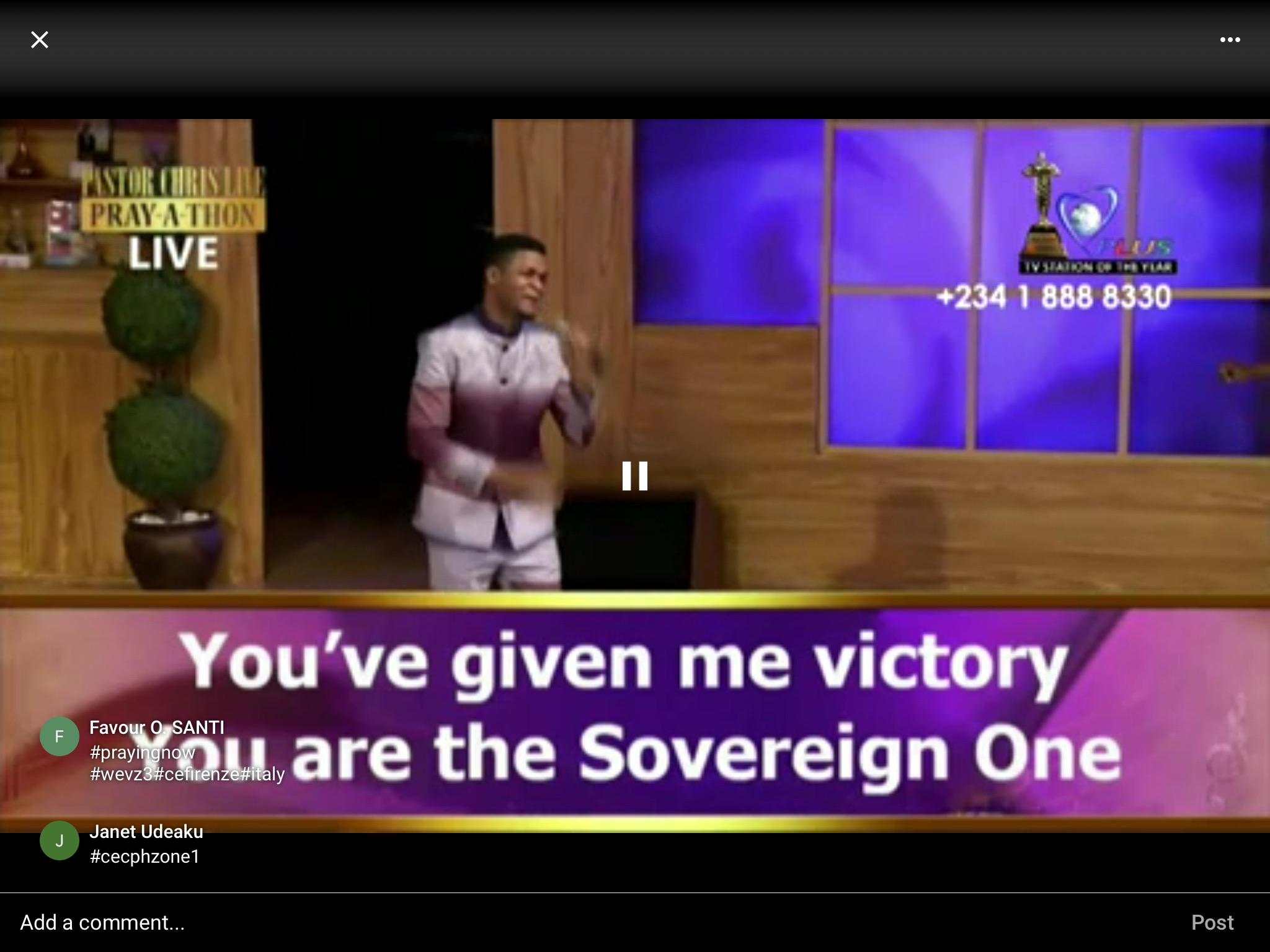 #prayingnow #prayingwithpastorchris #PCLPrayathon