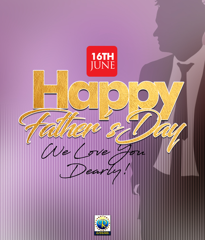 Happy Father's Day. We Celebrate