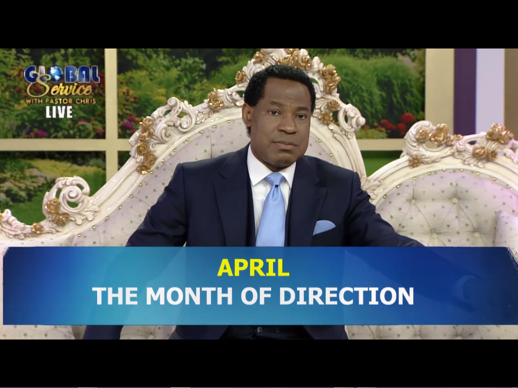 """the month of """"Direction""""."""