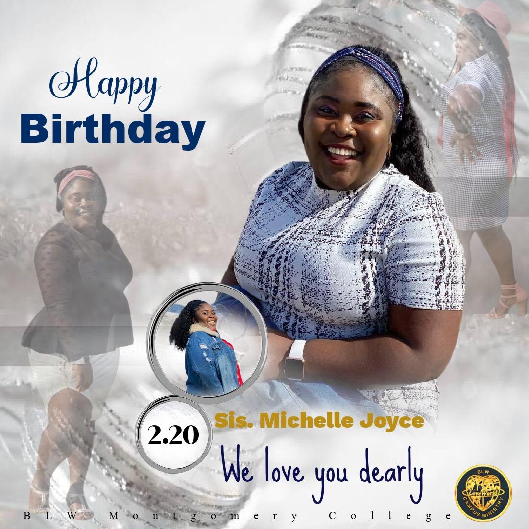 Happy birthday dear sis Michelle,