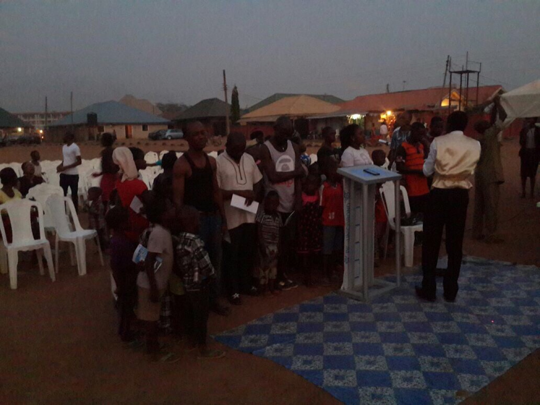 Kado-Kuchi Outreach-108 in attendance; 32