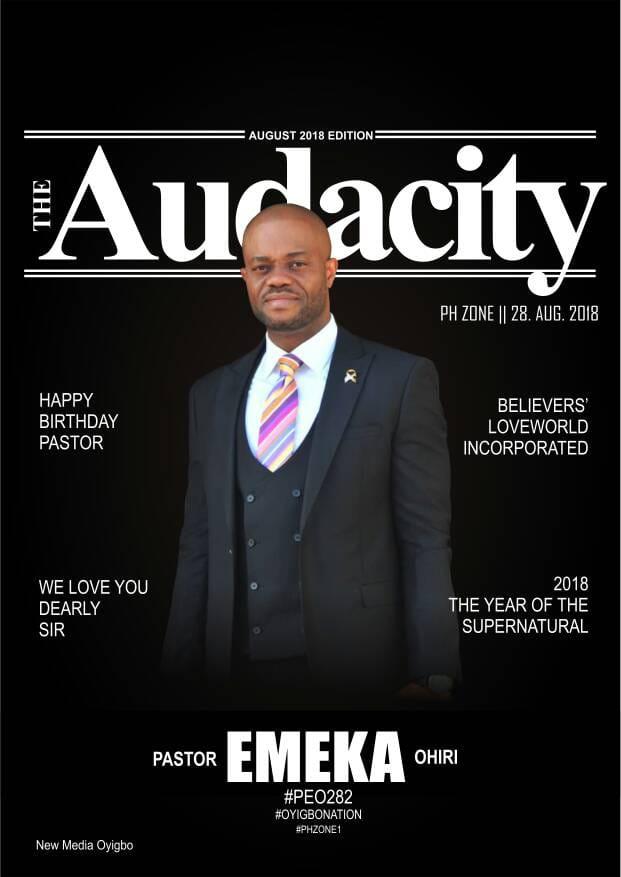 Audacity Pictures. Happy Birthday to