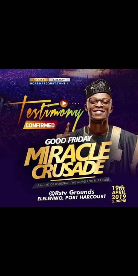 Good Friday Miracle Crusade PH