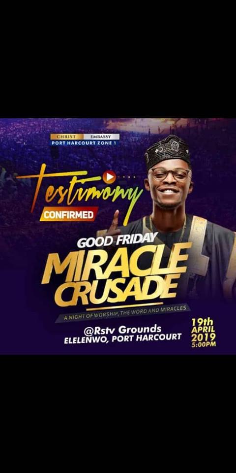 Good Friday Miracle Crusade PH