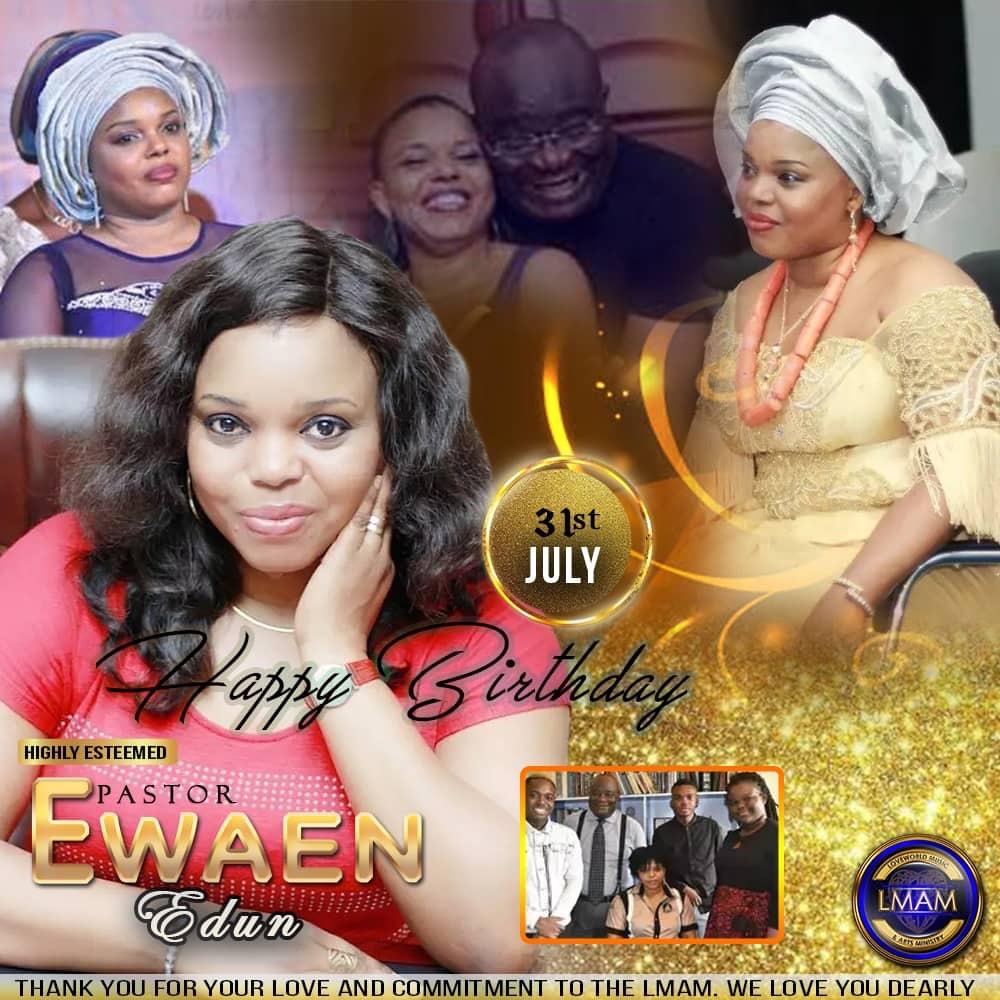 Happy Birthday Highly Esteemed Pastor