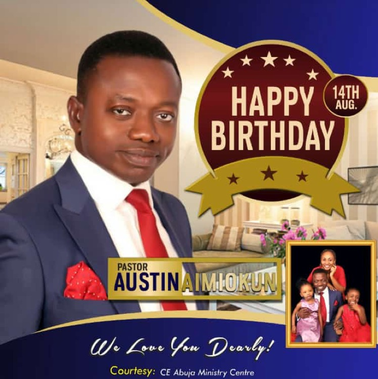 Happy birthday Highly Esteemed pst