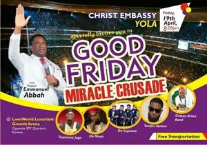 Pastor Emmanuel Abbah avatar picture