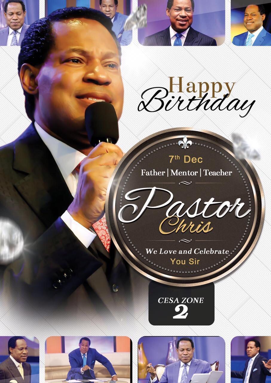 Happy birthday Pastor Sir. #cesazone2