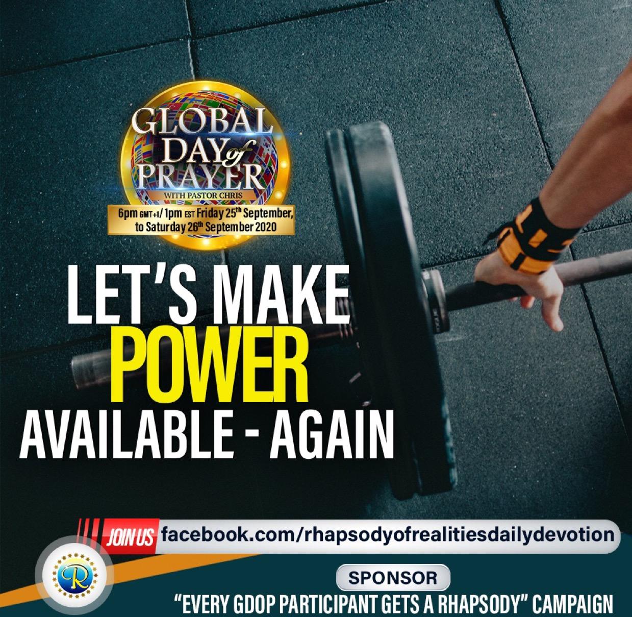 Power for change #iamaprayerinfluencer #ispreadp