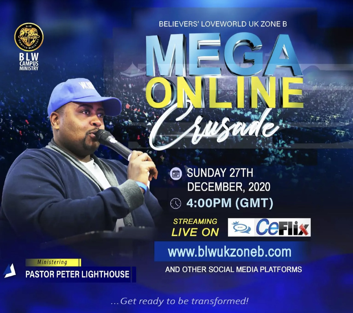 Millions will be reached. #MegaOnlineCrusades