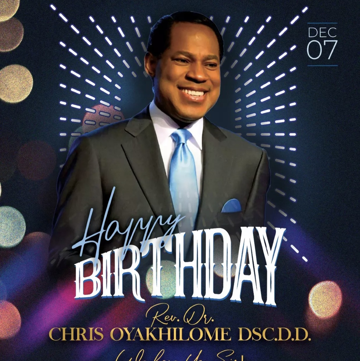 HappyBirthday to God's oracle. My