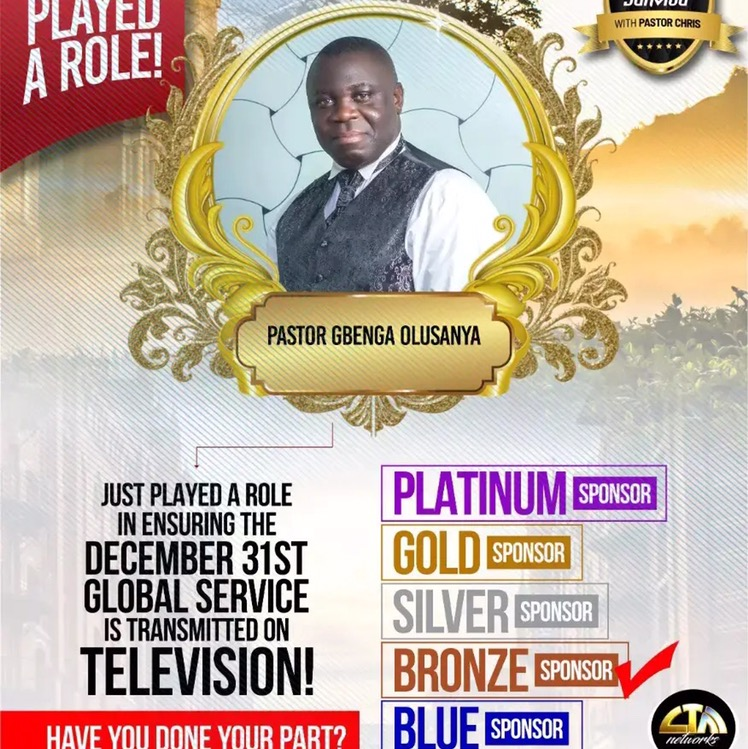 #Dec31stserviceonRadio #enter2021withPastorChris #