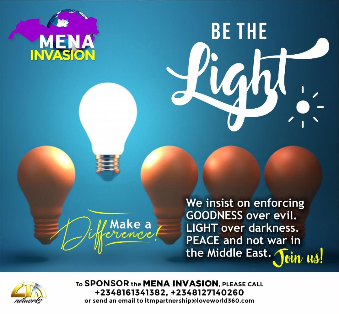 BE THE LIGHT! MAKE A