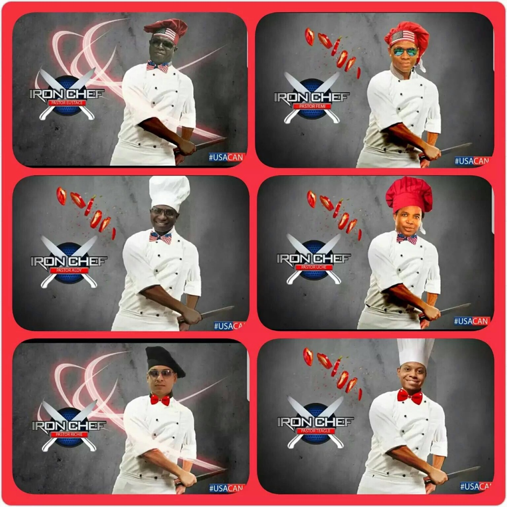 The Iron Chefs did it!
